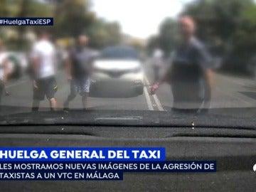 EP nuevas imagenes agresion taxi
