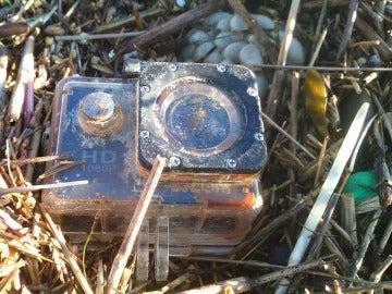 La cámara encontrada por Holger Spreer y Nele Wree