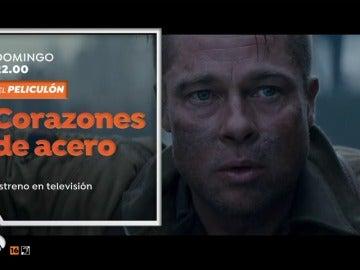 Brad Pitt protagoniza 'Corazones de acero', estreno en El Peliculón