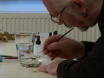 Hasan Kale: el Miguel Ángel de la pintura en miniatura