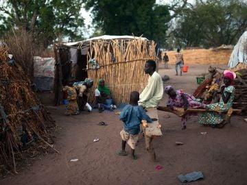 Un campamento en Nigeria
