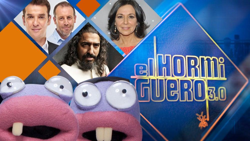 Diego 'El Cigala', Isabel Gemio, Antonio Molero y Luis Merlo se divertirán en 'El Hormiguero 3.0' la próxima semana