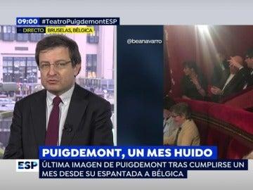 """Un exdiputado de CIU: """"Puigdemont no tiene otra actividad que llenar medios de comunicación, es como un personaje de reality show"""""""