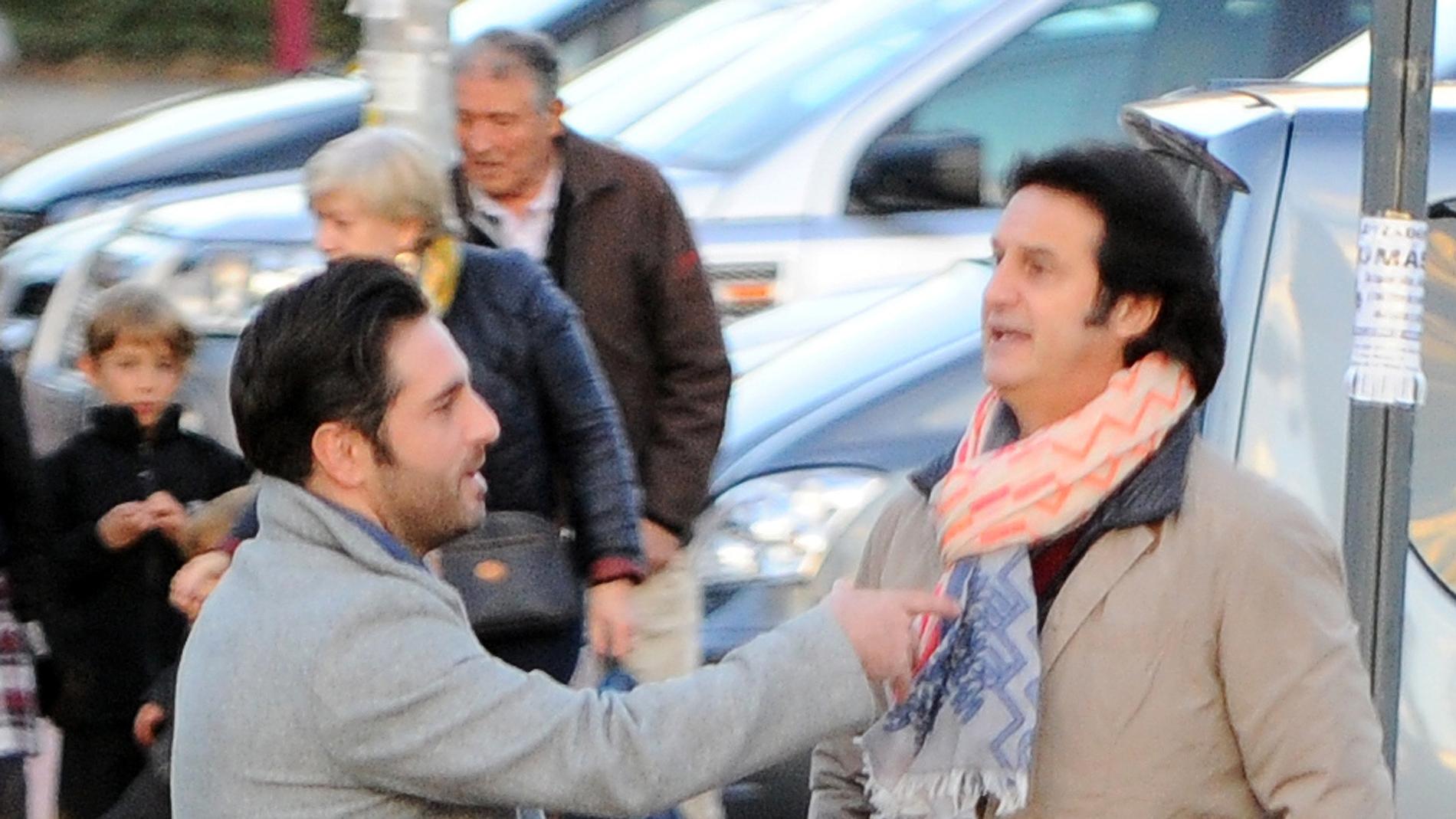 David Bustamante y Poty Castillo