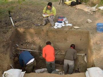La excavación en Cambrils