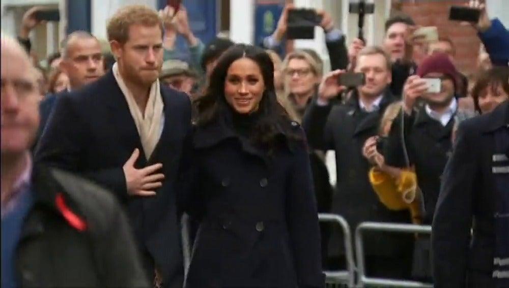 Primer acto oficial del príncipe Harry y Meghan Markle en Nottingham