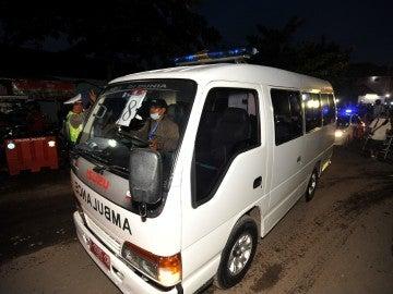 Una ambulancia de Nigeria