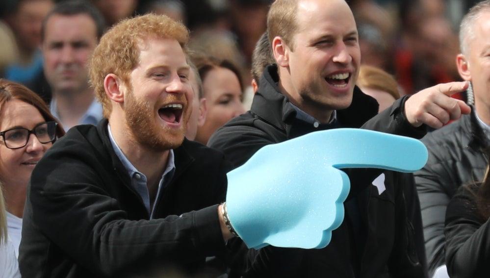 Príncipe Harry y el Príncipe Guillermo