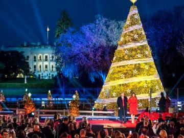 El árbol de Navidad de la Casa Blanca