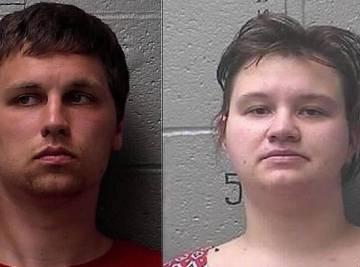 La pareja detenido por maltratar a su bebé