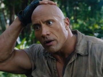 Dwayne Johnson en 'Jumanji: Bienvenidos a la jungla'