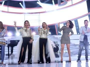 Las 'Single Ladies' llegan pisando fuerte al plató de 'Tu cara me suena'