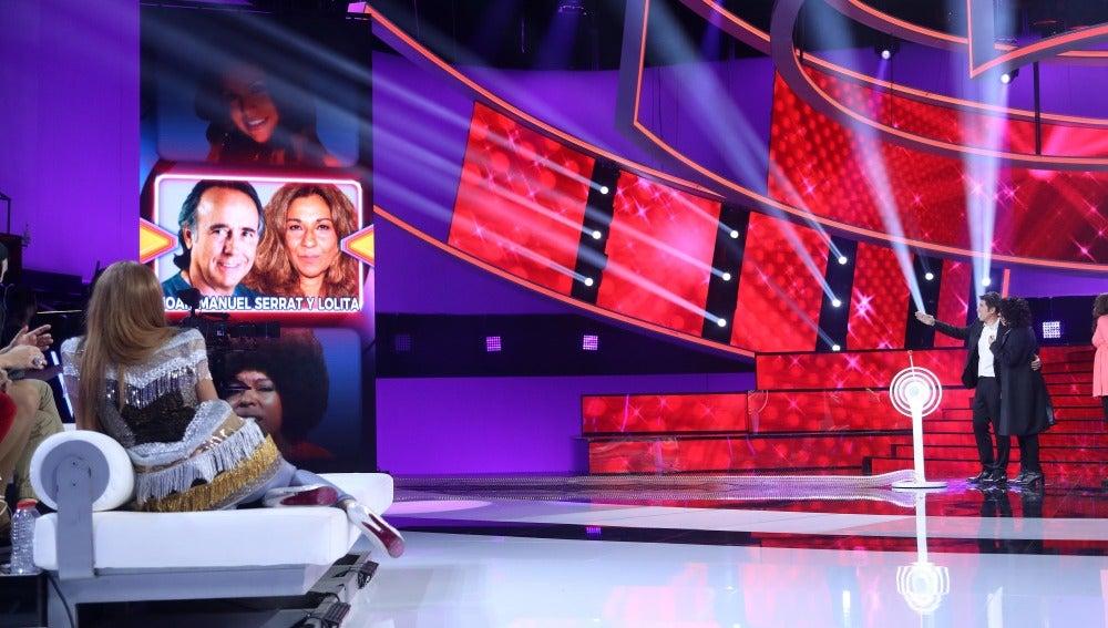 Ricky Martin, Concha Velasco y un cómplice que se convertirá en Joan Manuel Serrat y Lolita en la undécima gala de 'Tu cara me suena'