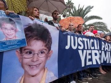 La familia de Yeremi Vargas