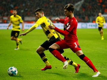 El Borussia Dortmund empató ante el Lerverkusen