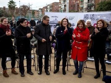 Acto de Podemos en Cataluña