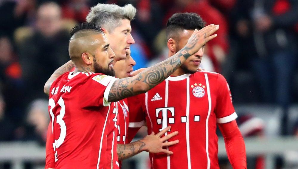 El Bayern golea al Hannover