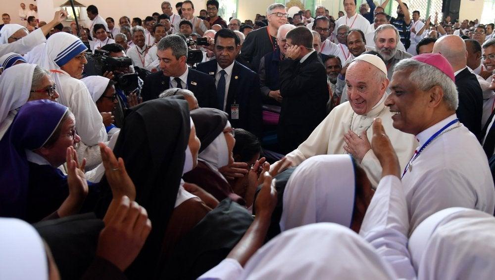 El Papa Francisco en Bangladesh
