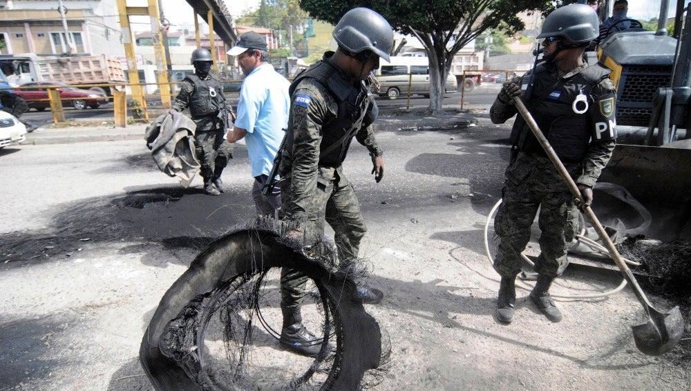 Tensión en Honduras