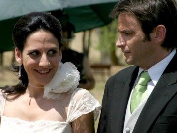 Emilio y Belén en 'Aquí no hay quien viva'
