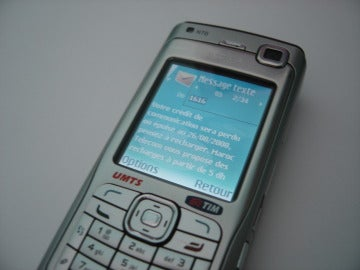 SMS en un Nokia