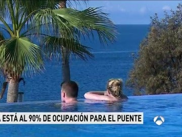 Canarias, el 'refugio' para combatir el frío durante el puente, está al 90% de ocupación