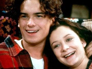 Johnny Galecki en 'Roseanne'