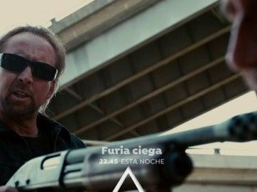 Nicolas Cage protagoniza 'Furia Ciega' en Antena 3