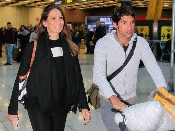Eva González y Cayetano Rivera regresan de México
