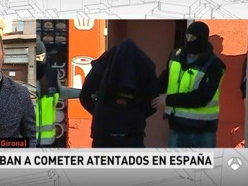 Detenidas cuatro personas por pertenecer a Daesh en Girona, Madrid y Tánger