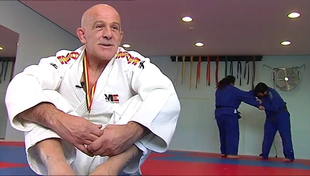 Campeón del mundo de judo a los 54