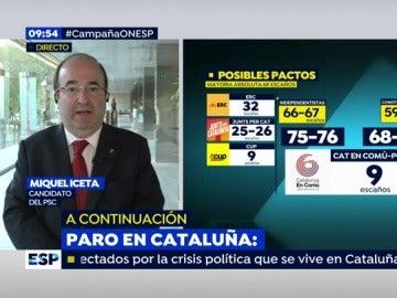 """Iceta, sobre los independentistas: """"No merecen seguir ni un minuto más al frente de la Generalitat, con mis votos no podrán contar"""""""