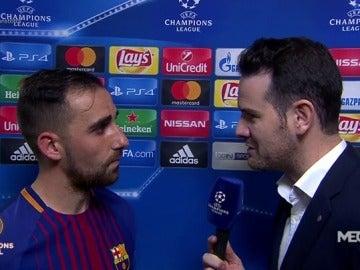 """Alcácer: """"Es un orgullo jugar con los dos mejores delanteros del mundo"""""""