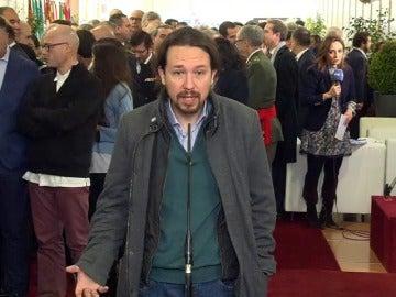 """Iglesias: """"Hace falta un gran acuerdo territorial, que implica que hablen y dialoguen los que no están de acuerdo"""""""