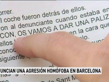 Un madrileño sufre una agresión homófoba en Barcelona cuando volvía a casa con su pareja