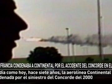 Francia condenaba a Continental Airlines por el accidente del Concorde en el 2000