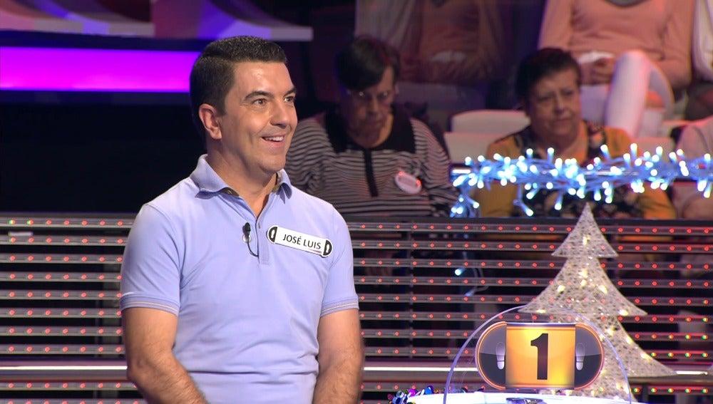 José Luis, concursante de '¡Ahora Caigo!'.
