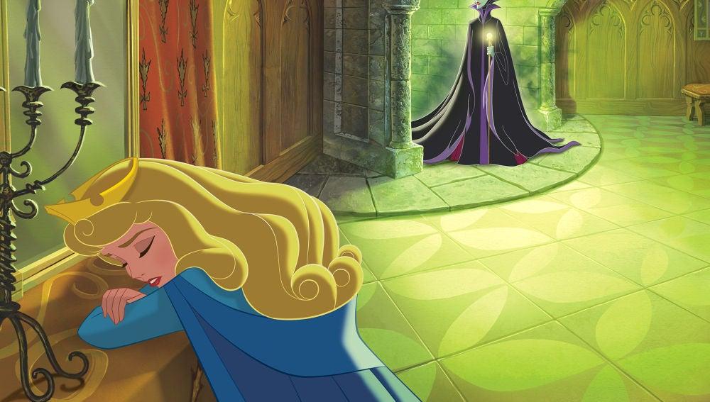 Aurora y Maléfica en 'La Bella Durmiente'