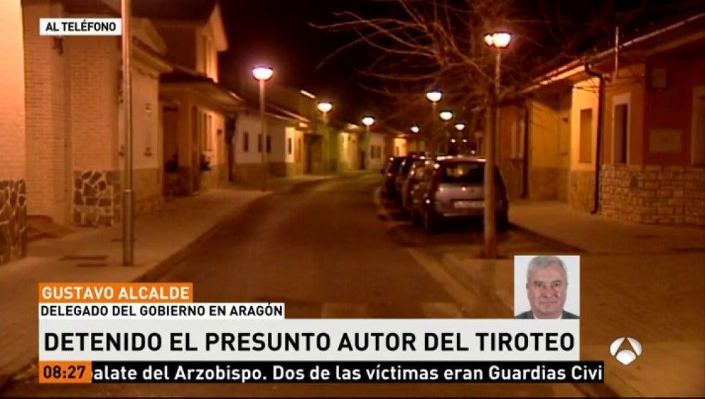 Gustavo Alcalde, Delegado del Gobierno en Aragón