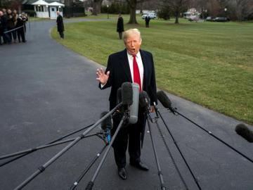 El presidente de EEUU, Donald J. Trump