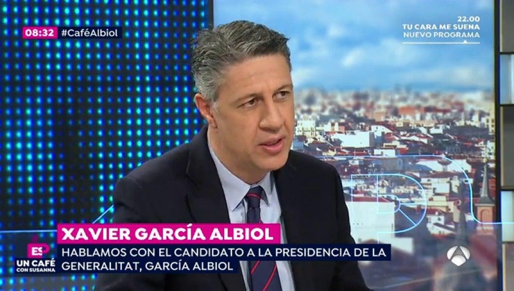 "Xavier García Albiol: ""No descarto que Iceta haga presidente a Junqueras"""