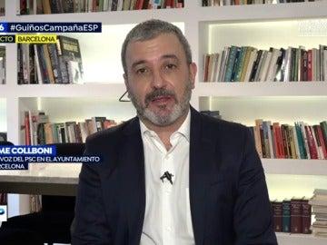 Portavoz del PSC en el Ayuntamiento de Barcelona, Jaume Collboni