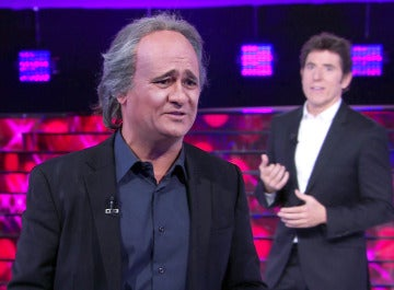 Secun de la Rosa se lanza a cantar en catalán 'a lo Joan Manuel Serrat'