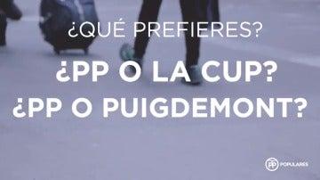 """El PP lucha por el """"escaño decisivo"""" en su último vídeo de campaña de cara al 21-D"""