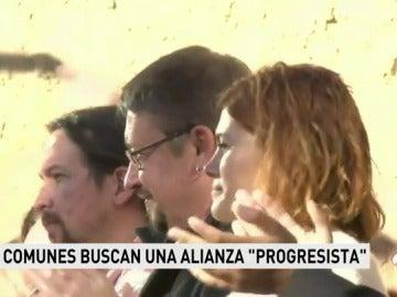 """Domènech avisa a Ciudadanos y JxCAT: """"Hemos venido a echarlos, no a abstenernos"""""""