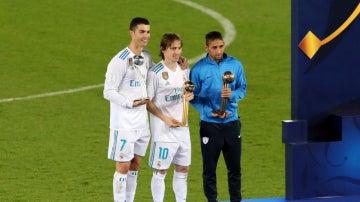 Modric, Balón de Oro del Mundial de Clubes
