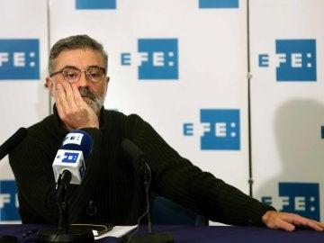 El candidato de la CUP a la presidencia de la Generalitat, Carles Riera