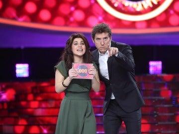 Lucía Gil se proclama ganadora de la undécima gala de 'Tu cara me suena' como Jeanette