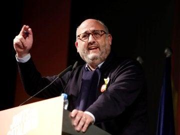 El candidato de Junts per Catalunya Eduard Pujol