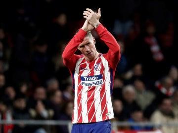 Fernando Torres aplaude